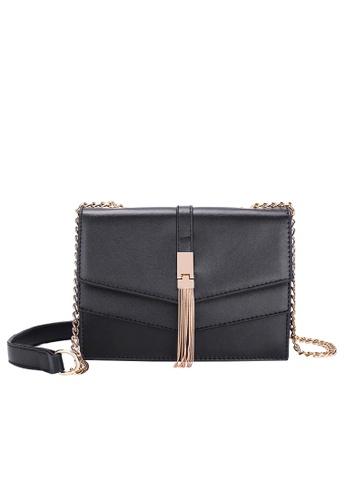 Lara black Women's Elegant Crossbody Bag B6E10ACF13C3E9GS_1
