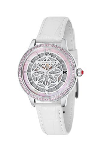Thomas Earnshaw white Thomas Earnshaw Women's Genuine Leather Watch - ES-8064-01 2EB24AC452D369GS_1