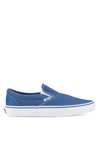 VANS navy Core Classic Slip-On VA142SH18LSJMY_1