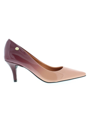 Beira Rio purple and beige Patent Gradient Colored Elegant Shoes BE995SH21XFIHK_1