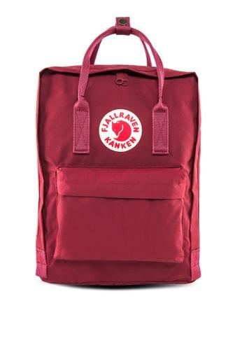Fjallraven Kanken red Ox Red Kanken Classic Backpack FJ859AC54LCBSG_1