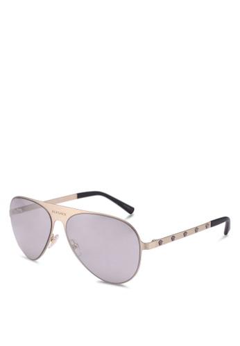 Versace 金色 Versace Sunglasses 04163GL247FF61GS_1