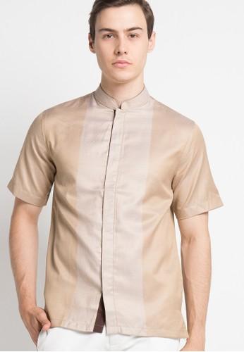 BAVERRE brown Short Sleeve BA337AA10VNDID_1