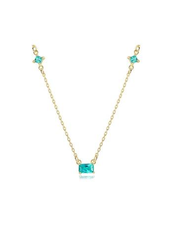 SUNRAIS gold Premium Silver S925 Gold Fashion Necklace CE66AACAED2061GS_1