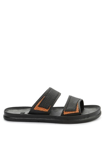 CARVIL black and multi Sandal Casual Men Clayton-02M 6B5E7SHFE125D7GS_1