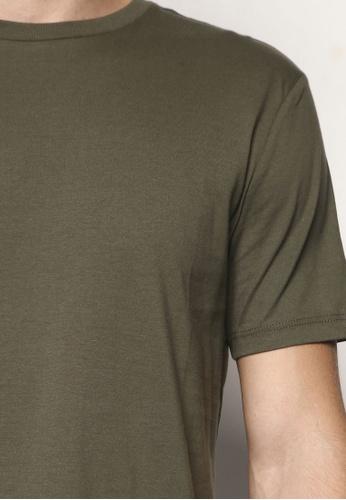 Khaki Jersey Slim Fit T-Shirt