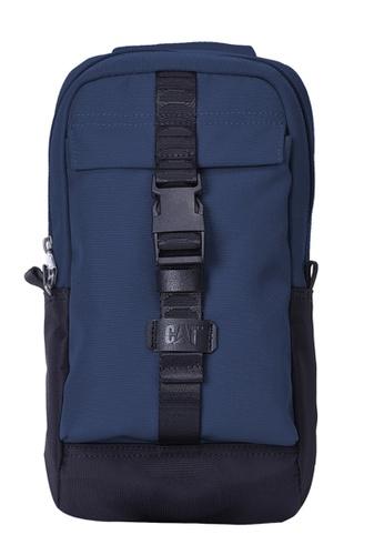 CAT blue Tracks Sling Bag CA685AC2VRAEHK_1