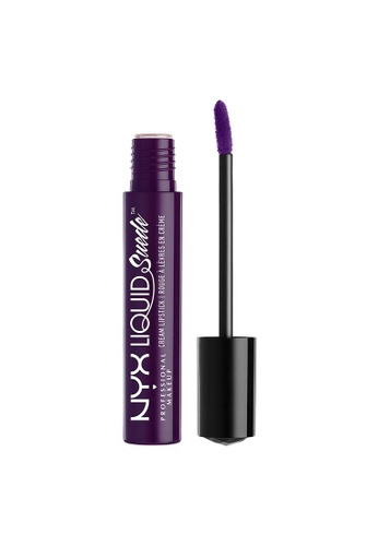 NYX Professional Makeup purple NYX Professional Makeup Liquid Suede Cream Lipstick - OH PUT IT ON 2CD3DBE2B97C08GS_1