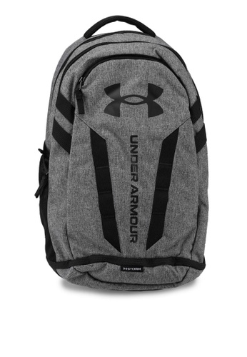 Under Armour black Hustle 5.0 Backpack 3D871AC2B2EDA6GS_1