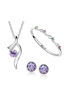 Bright Stars Austrian Crystal Accessories Jewellery Sets