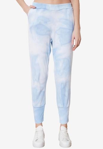 Trendyol blue Tie Dye Jogger Pants 787BCAAA4604C5GS_1