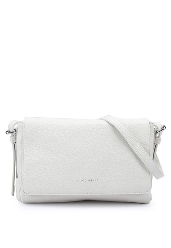 Coccinelle white Alix Crossbody Bag 6C355ACA62CFC5GS_1