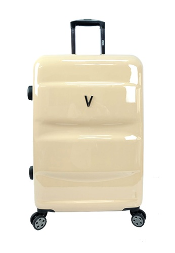 Poly-Pac brown Poly-Pac Verri Collection 20 inch PC Hard Case Luggage V-YT160019 AEDF0AC95670FEGS_1