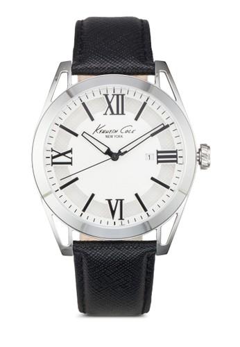 esprit hkKenneth Cole IKC8072 圓框手錶, 錶類, 皮革錶帶
