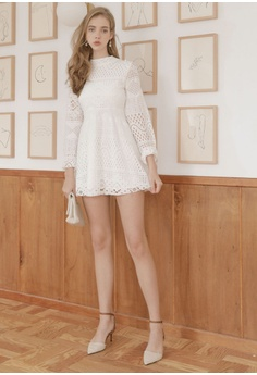 d89680127f126 Eyescream Long Sleeve Lace Dress RM 169.00. Sizes S M L