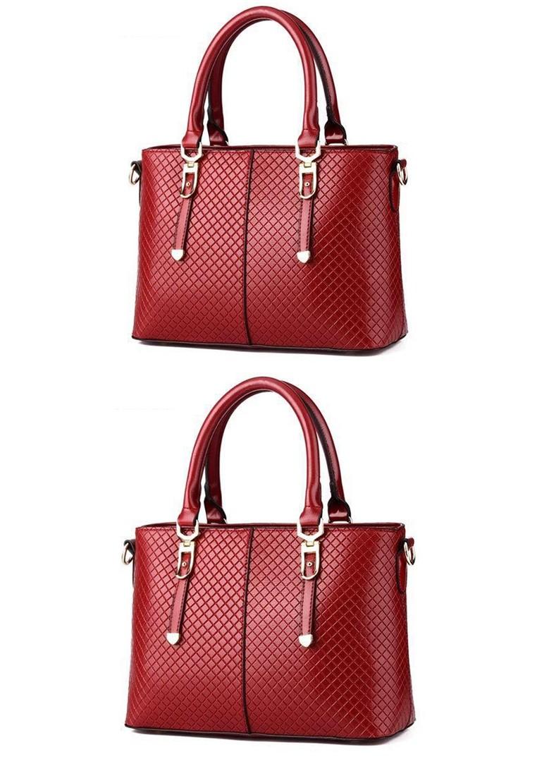 KL16006 European and American Classy Handbag with Shoulder Strap Bundle