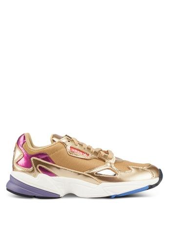 finest selection f74ea df9d7 adidas gold adidas originals falcon w 057E5SH9B02FB7GS 1