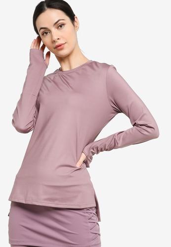 Zalia pink Active Long Sleeve Top DB093AAA3B1330GS_1