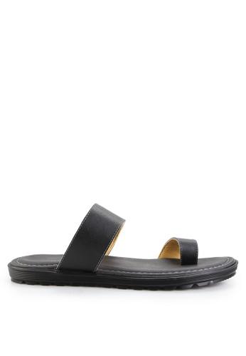 MARC & STUART Shoes black Sandal Nemo 4 MA456SH0UOR4ID_1