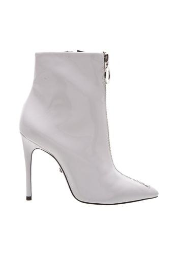 SCHUTZ 白色 SCHUTZ 尖頭拉鏈高跟靴 - VERSE (白色) C64B7SH0428191GS_1