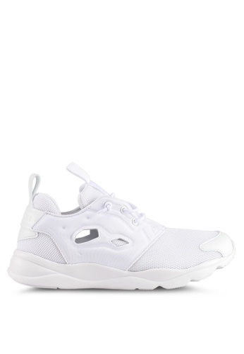 Reebok white Furylite Mesh Shoes RE691SH0SWY4MY_1