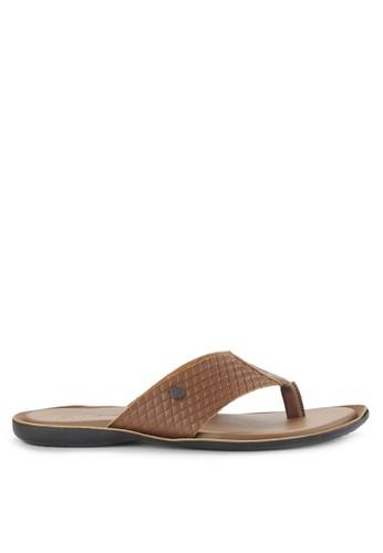 Watchout! Shoes brown Sandals Thongs WA021SH0VXYQID_1