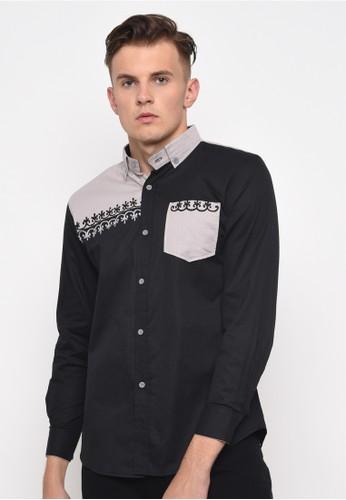 Java Seven Muslimwear black CBR SIX KOKO TANGAN PANJANG PRIA [MNC 978] - Hitam 68AD4AA70AF89DGS_1