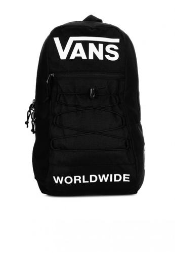 Vans black Snag Backpack D4F42AC59E1B6FGS_1