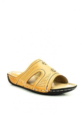 Cardam's Lifestyle beige Bea Sandals 59C19SH93B6829GS_1