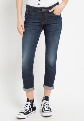 Miyoshi Jeans blue 64 Skinny Jeans 7/8 MI115AA0WQTRID_1