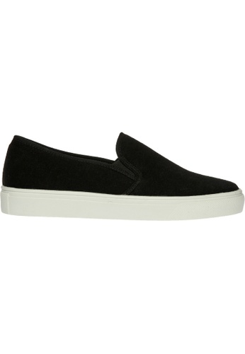 paperplanes black SNRD-136 Cotton Tall Up Casual Slip-Ons Shoes US Women Size PA355SH19QBGSG_1