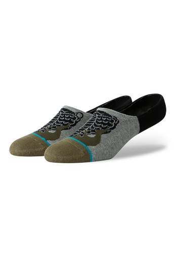 STANCE grey STANCE Socks Heather Grey Snake Venom Invisible Large 28DC1AA3E1D8C5GS_1