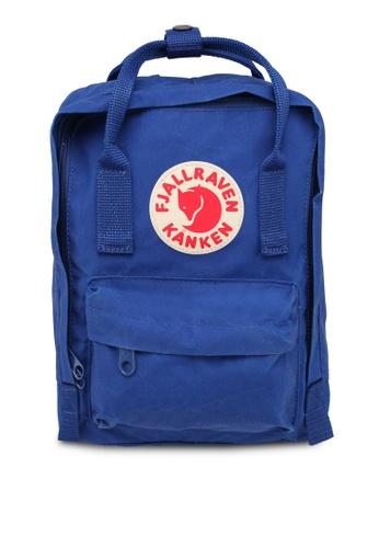 Fjallraven Kanken blue Kanken Mini Backpack FJ382AC0SX8WMY_1