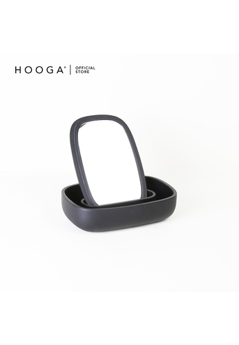 HOOGA black Hooga Toiletries Table Mirror Livio (Bundle of 2) 27499HL4BE2014GS_1