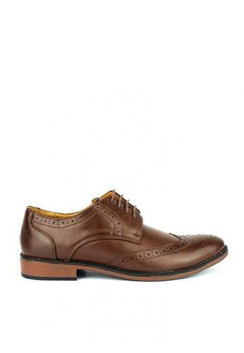 Mario D' boro Runway brown Samuel Formal Shoes 4DBCFSHE9BC81FGS_1
