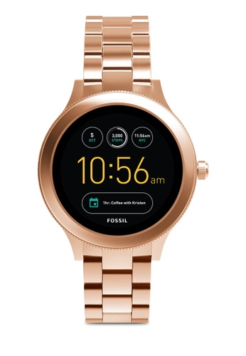 Fossil gold Fossil Q Venture Rose Gold Smart Watch FTW6000 FO164AC0SM3QMY_1