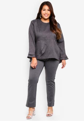 4721ba9b2ab Buy Gene Martino Plus Size Straight Cut Pants Online on ZALORA Singapore