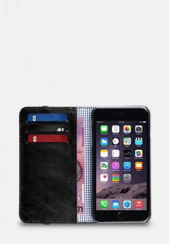 toffee Flip Wallet, iPhone 6/6s Plus Black TO318AC0F1ZFSG_1