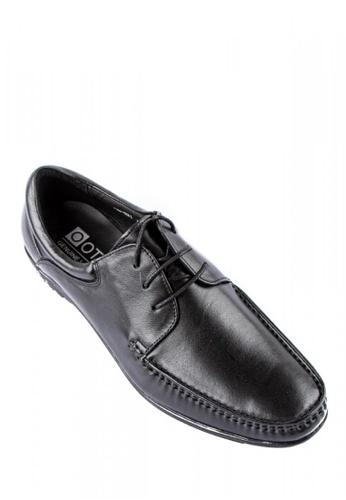 Otto black Derby Shoes F2E43SH2DA03F0GS_1