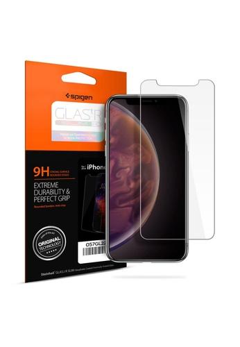 Spigen Spigen Glas.tr Slim Premium Tempered Glass Screen Protector for Apple iPhone Xs / X - Clear EE15FESB66E811GS_1