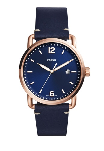 Fossil navy The Commuter 3h Date Analog Watches FO359AC0K93BPH_1