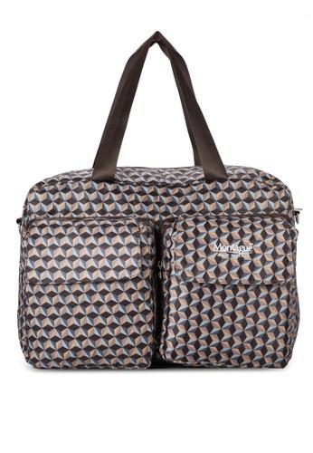 週末印花大型esprit outlet 台灣手提包, 包, 旅行袋
