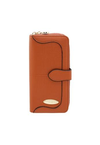 British Polo brown British Polo Lynn Flap Wallet ECCD1AC3BE933DGS_1