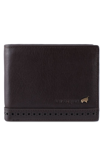 RAV Design brown Leather Wallet RA113AC0SJ96MY_1