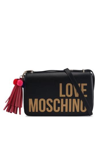 Love Moschino black LOVE MOSCHINO Shoulder Bag LO478AC0SXXSMY_1