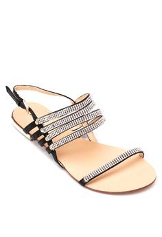 Nicole Flat Sandals