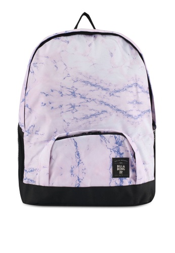 Billabong purple Marbled Backpack 48FB2ACB888493GS_1