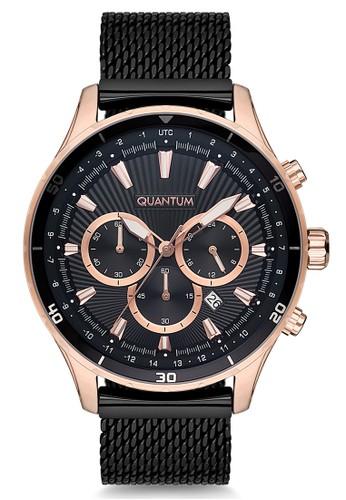 Quantum black and gold Casual Men's Watches QTM ADG657.450 0172FAC7EE4D35GS_1
