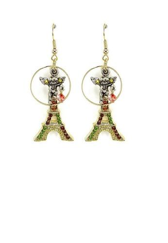 Glamorousky multi Trendy Earrings 19AB8AC54F273EGS_1