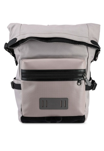 Coach grey Terrain Roll-Top Backpack (cv) 4F3D6ACA655AB7GS_1
